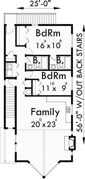 10 best ideas about duplex house on pinterest duplex for Corner lot duplex plans