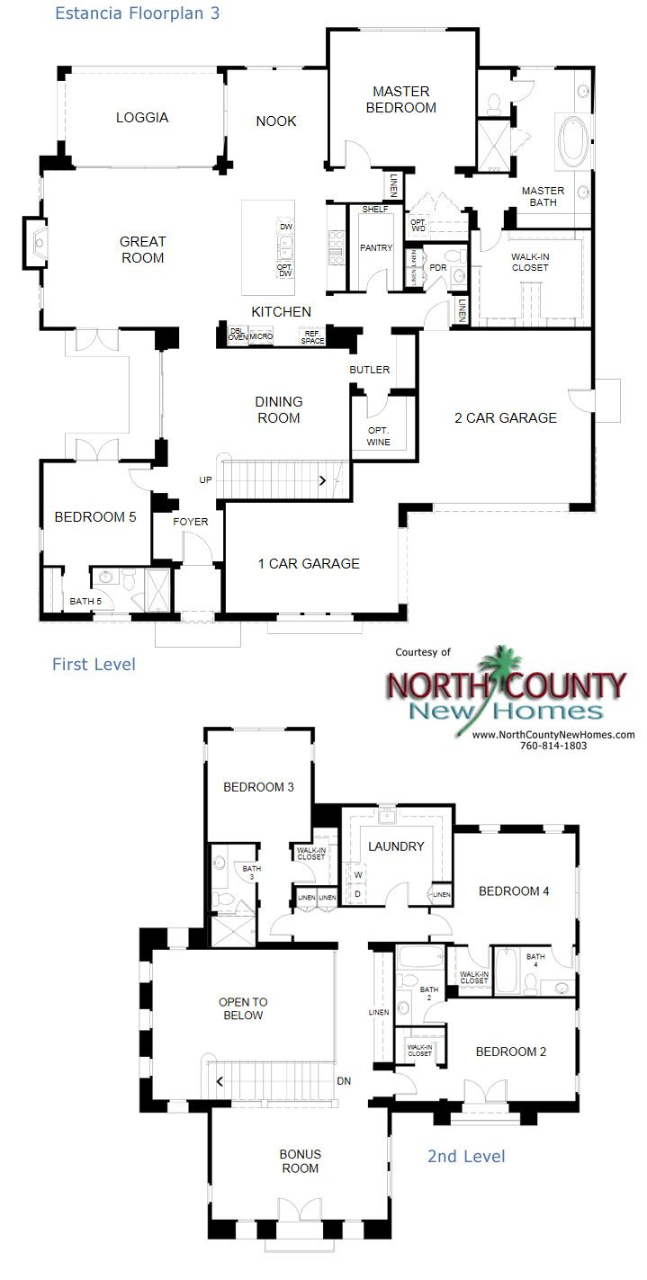 308 best new home floor plans in north county san diego images on new homes in rancho santa fe estancia at cielo new single story and two stroy