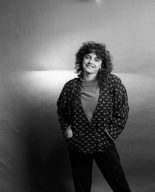 Lucie Bílá na snímku z roku 1986