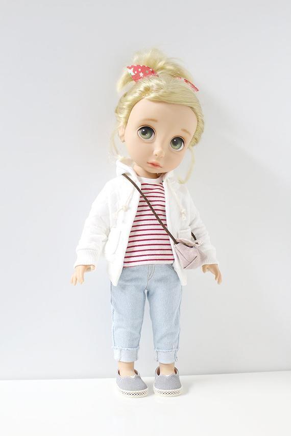 Cute 1//6 Bjd Doll Mini Pullover Sweatshirt Winter DIY Clothing Accessory Brown