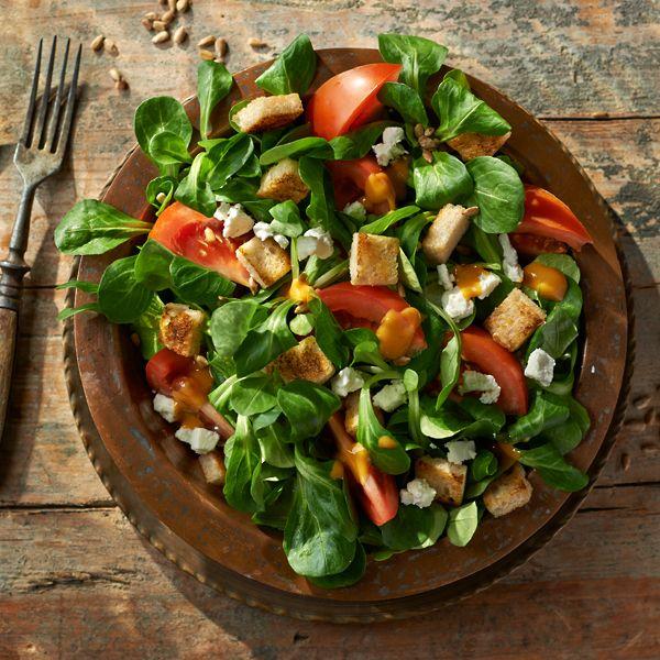 Sałatka z roszponki i pomidorów #lidl #przepis #roszponka #pomidory #salatka #ryneczeklidla