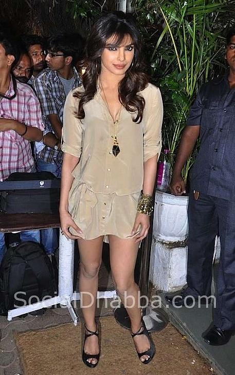 Priyanka Chopra at Sanjay Leela Bhansali's 50th Birthday Bash 01