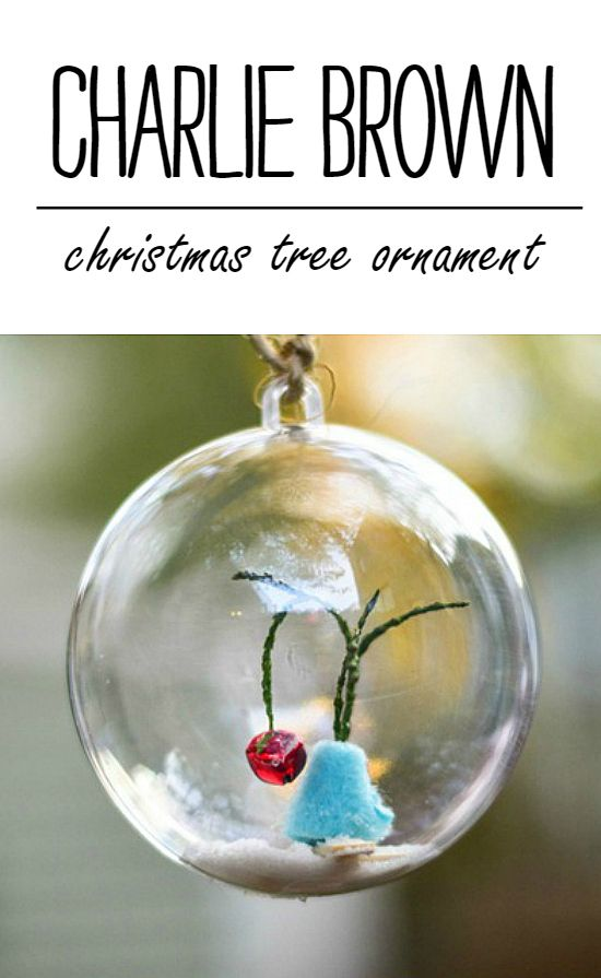 Charlie Brown Christmas Tree Ornament