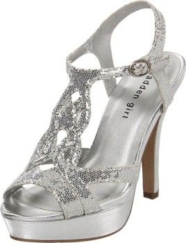 cute cheap designer silver shoes for prom and graduation 2013 - 2014