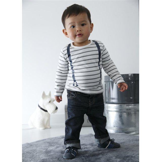 Camiseta con efecto de superposición y manga larga bebé niño Cocoon - YoElijoElPrecio.com