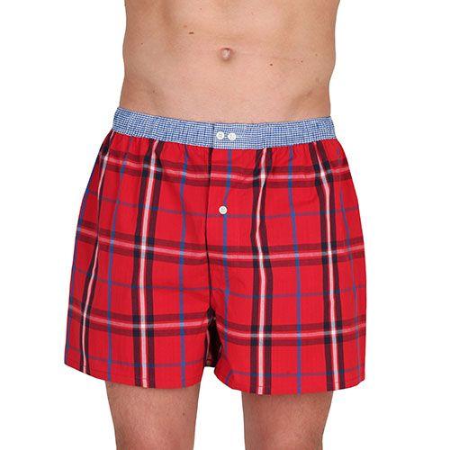 Check Boxer Shorts