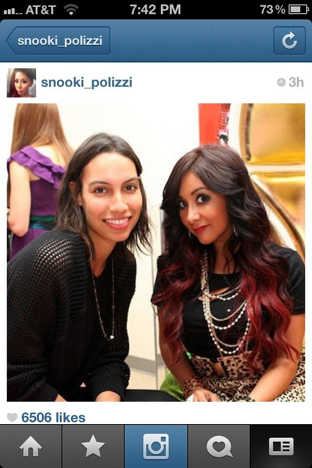 Id hate to admit it but.....I like Snooki's hair.