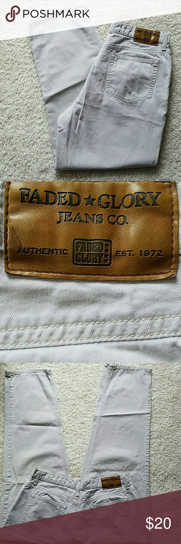 FADED GLORY JEANS FADED GLORY JEANS TAN Faded Glory Jeans