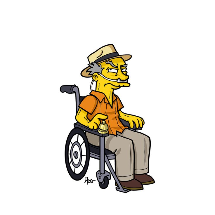 "Hector Salamanca. | ""Breaking Bad"" Characters Drawn As ""The Simpsons"""