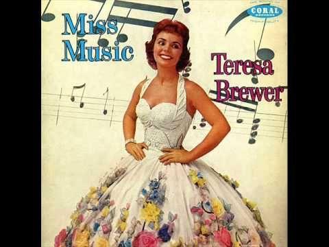 ▶ Teresa Brewer - A Tear Fell - YouTube