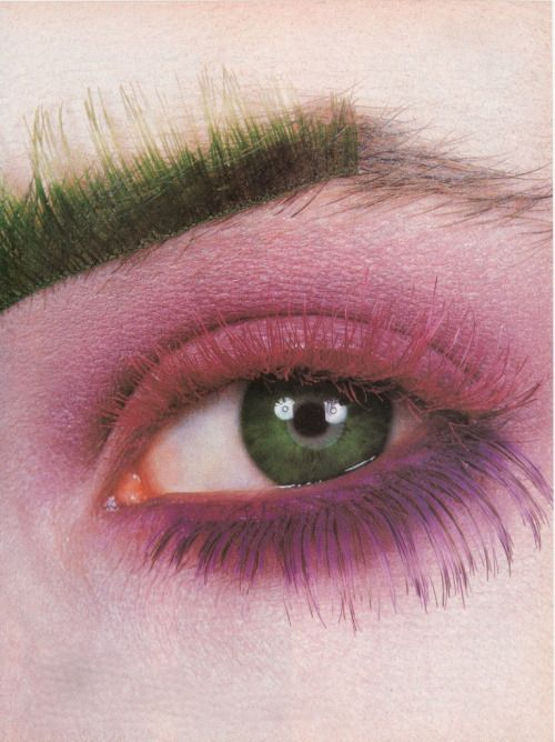 ph. Irving Penn / Makeup by Kevyn Aucoin for US Vogue, October 1987