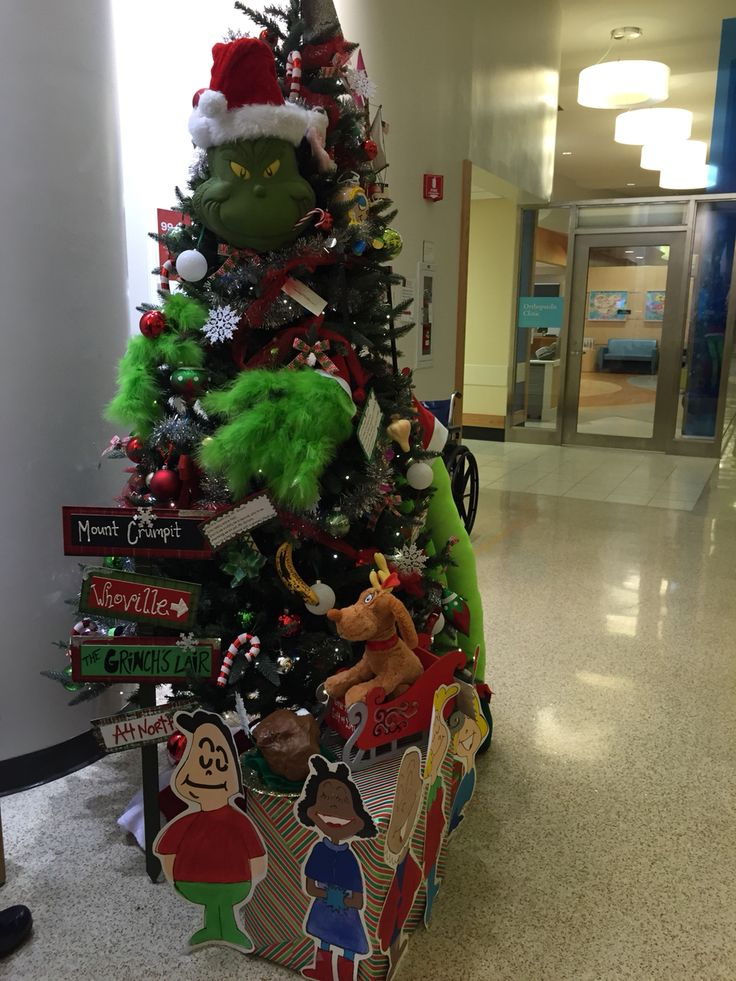 The Grinch Gives back! Won 2nd place for our CCHMC holiday competition!