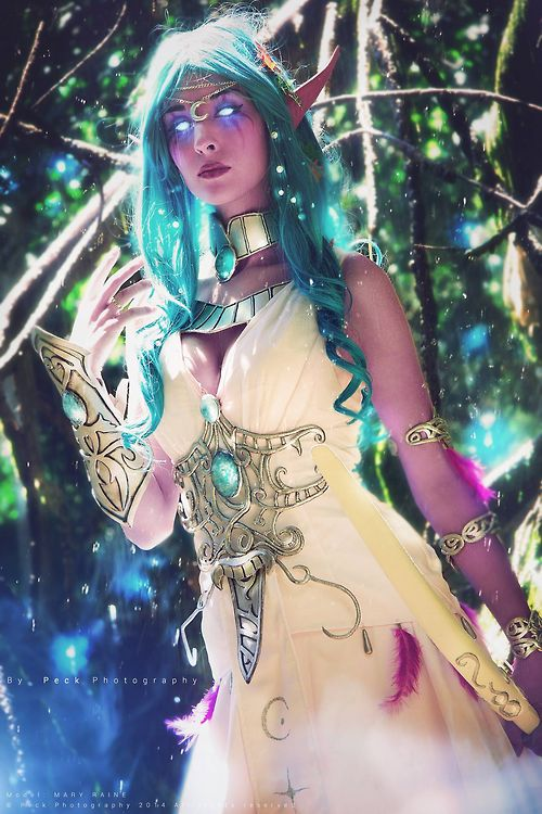 Tyrande Whisperwind from World of Warcraft Cosplayer: Mary Raine