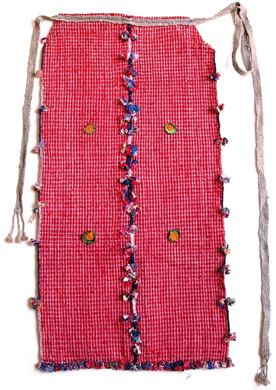 handwoven cotton, part of Anadolean traditional costume