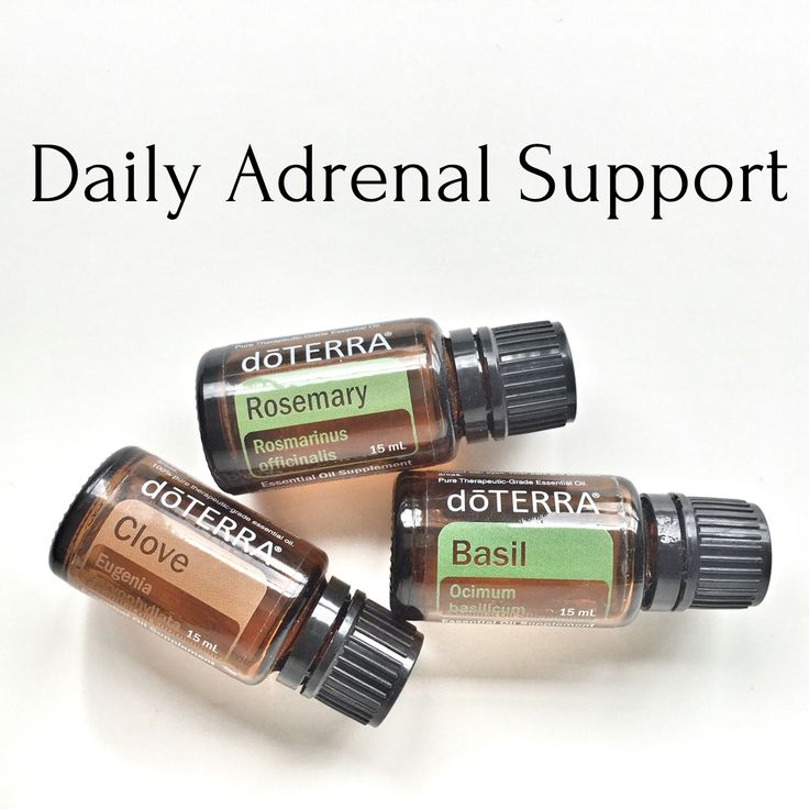These three oils are fantastic for adrenal support! Just rub a drop over the adrenals 1-2x a day!