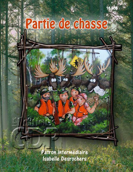 Partie de chasse par Isabelle Desrochers