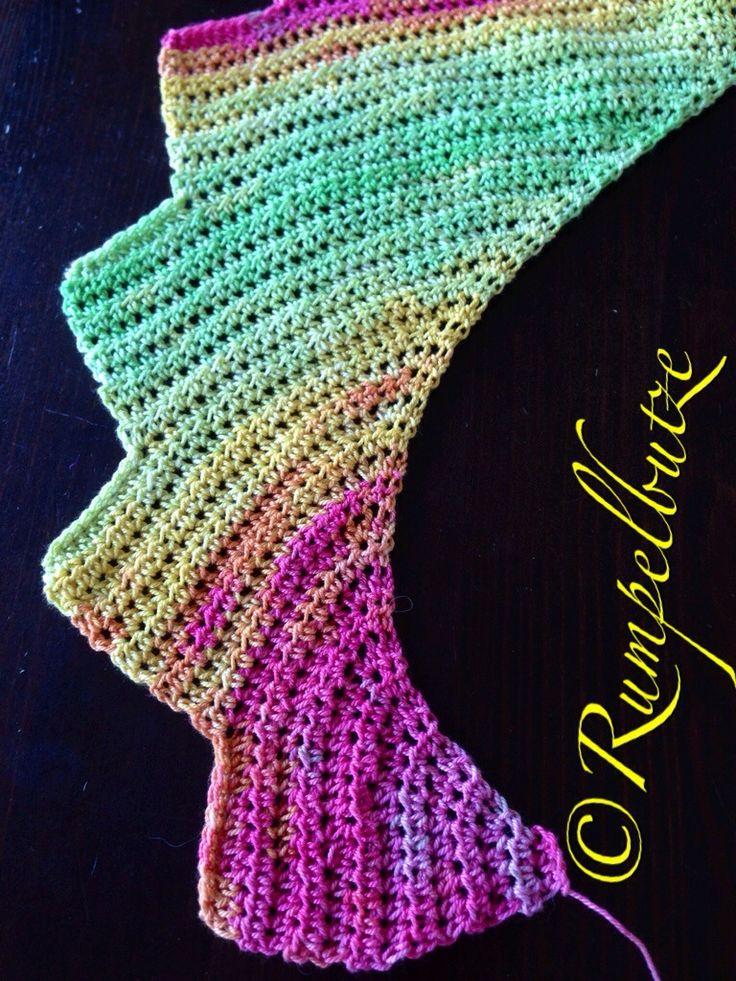 35 best Tunnesich Häkeln images on Pinterest | Tunisian crochet ...