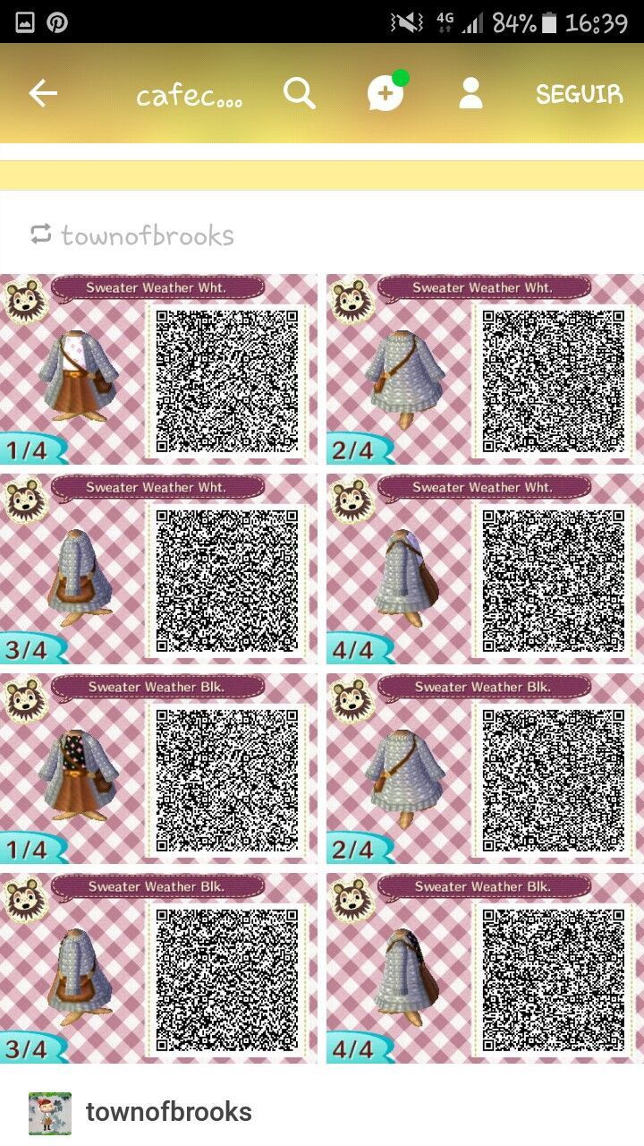 Pin by Kat Lacey on Qr codes ACNL | Animal crossing 3ds