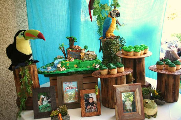 Jungle Safari Birthday Party Ideas | Photo 13 of 49 | Catch My Party