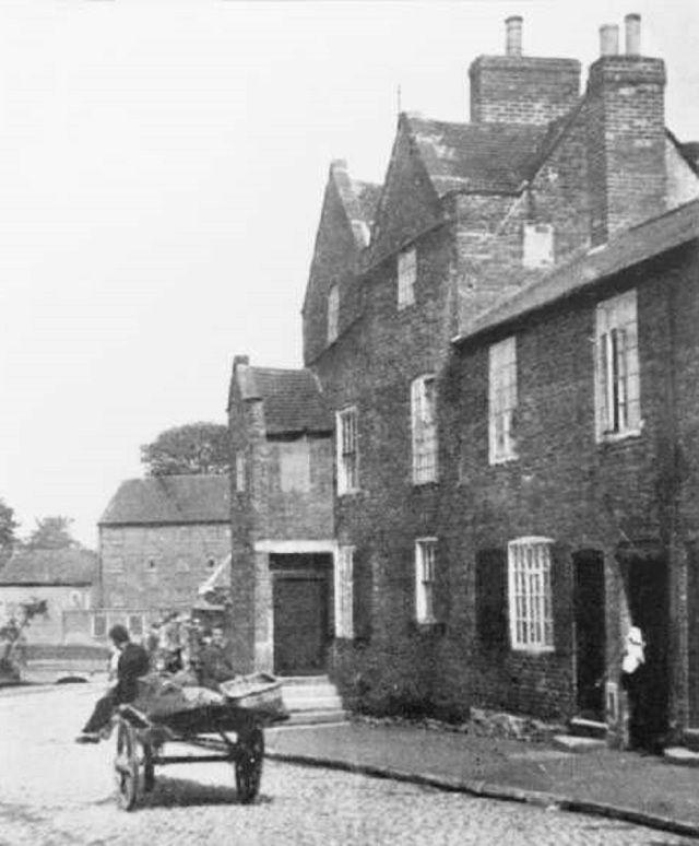 Radford Parish Workhouse, St Peter's Street, Radford, 1898