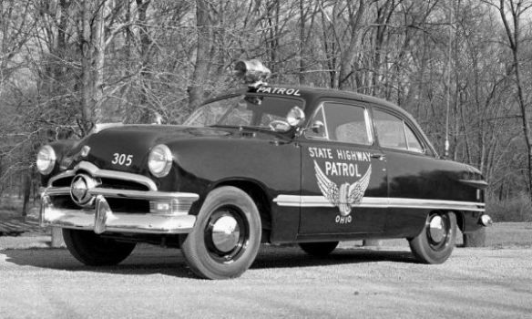 Used Cars For Sale In Mn >> 1950 Ford The State Highway Patrol of Ohio has used all manner of interesting vehicles for ...