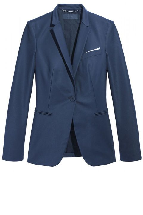 Les Copains blazer, $1,295, shopBAZAAR.com.
