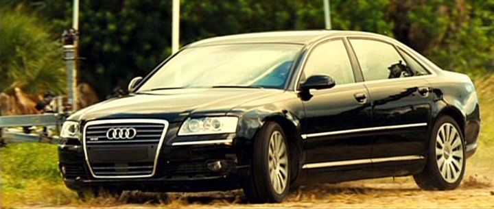 "2005 Audi A8 L 4.2 quattro (as 6.0 W12) from ""Transporter 2"""
