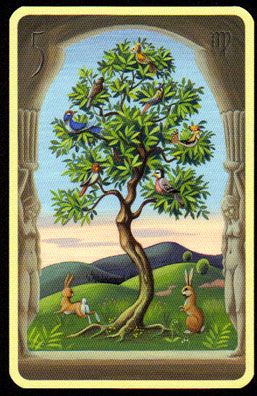Significado Carta Tarot LENORMAND - El Árbol