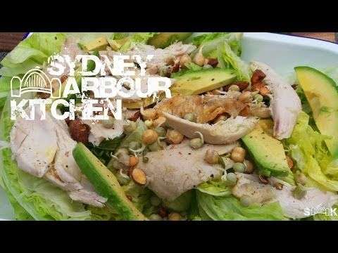 Chicken & Avocado Wedge Salad.