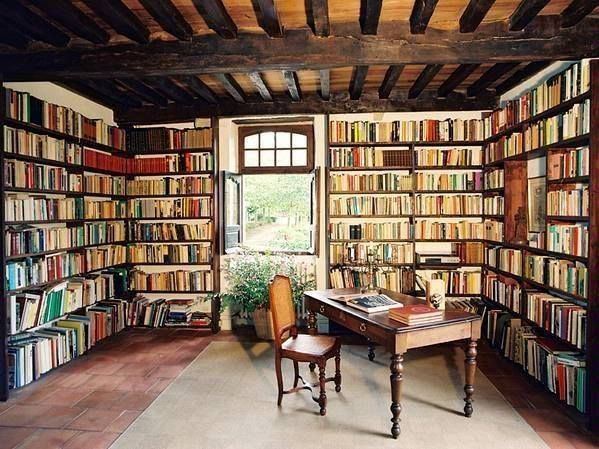 I wish I could have all my books in one room!
