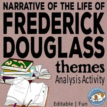 an analysis of the narrative of the life of frederick douglass a book on slavery The project gutenberg ebook of the narrative of the life of frederick douglass frederick douglass was born in slavery as frederick in the same book.