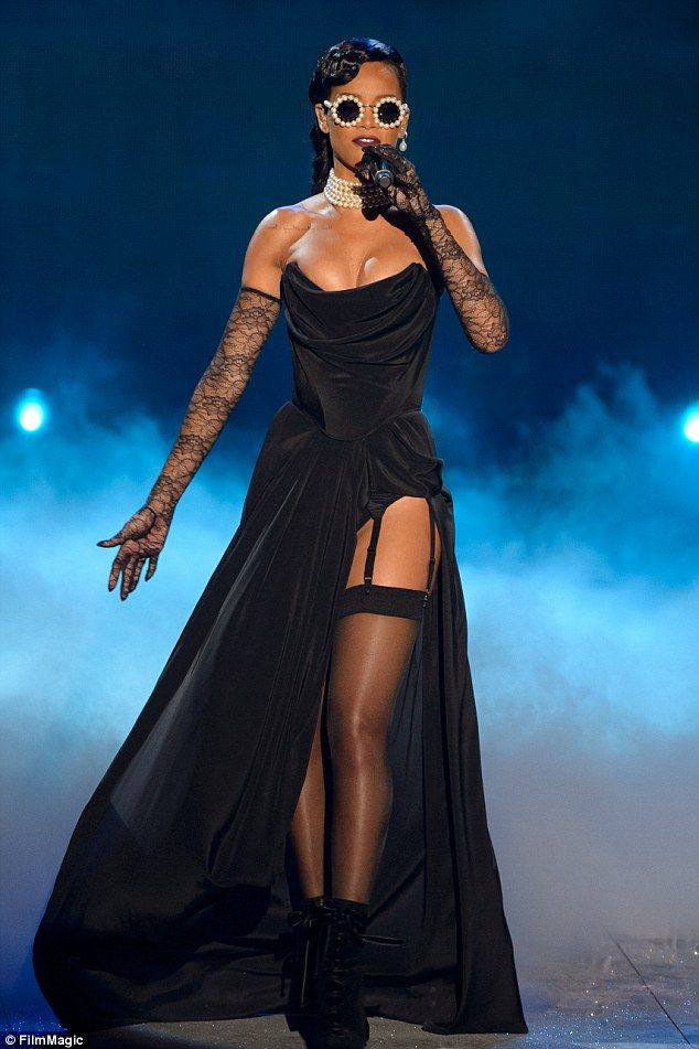 Beef:The British model's tweet read: 'Feeling so much better about not doing BS... sorry I mean VS now that Rihanna isn't doing it also.' Rihanna last performed for Victoria's Secret in 2012
