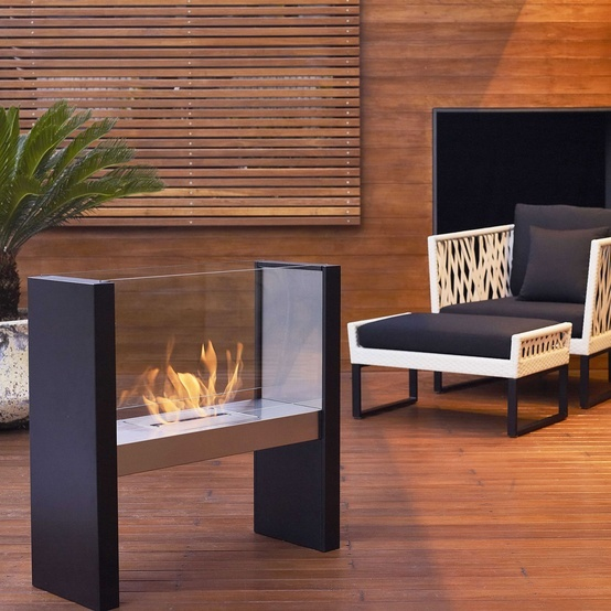 'Flame' Large Outdoor Heater, from Domayne.
