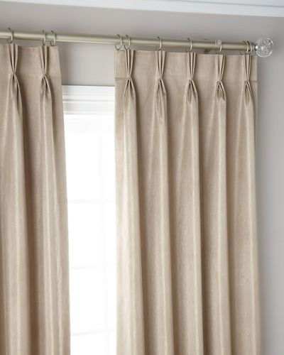 3 Fold Pinch Pleat Shimmer Curtain Panel 108