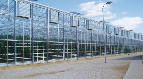 External view of pad and fan system.  If you have a greenhouse you definitely…