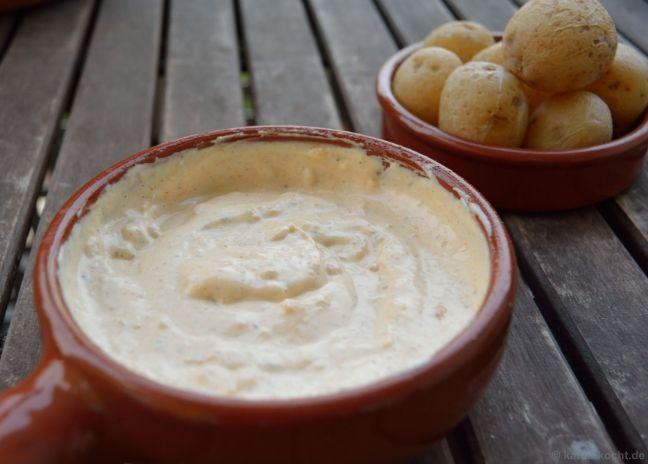 Röstknoblauch-Créme und Kartoffeln von Katharina