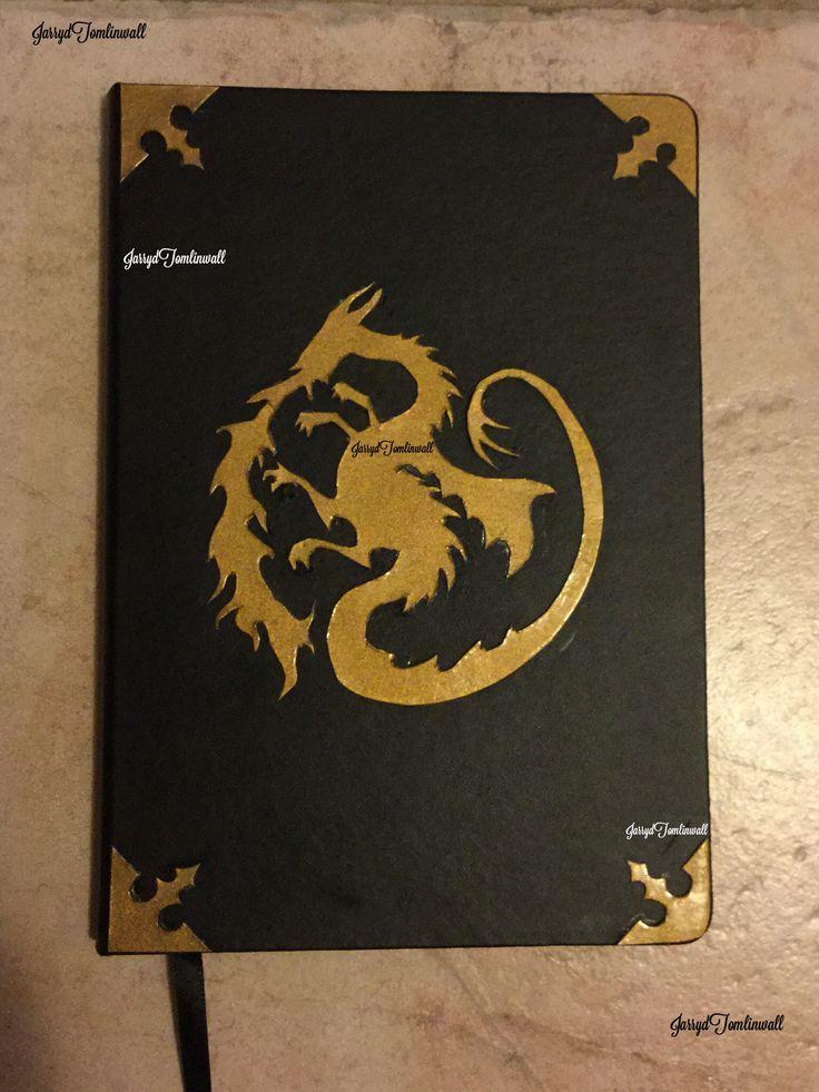 Custom Disney Descendants Mal S Spell Book Journal Made