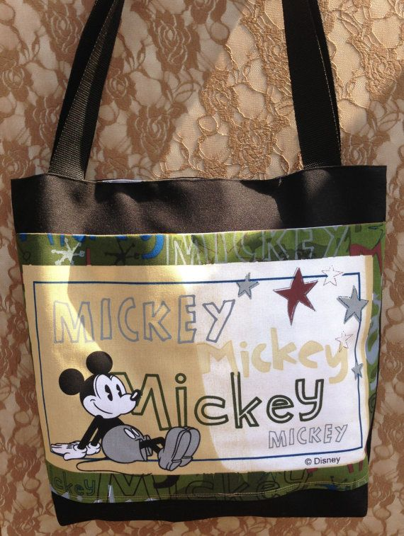 Mickey Mouse bag / Mickey Mouse Market Tote Bag by LaVieBoeretroos, $20.00