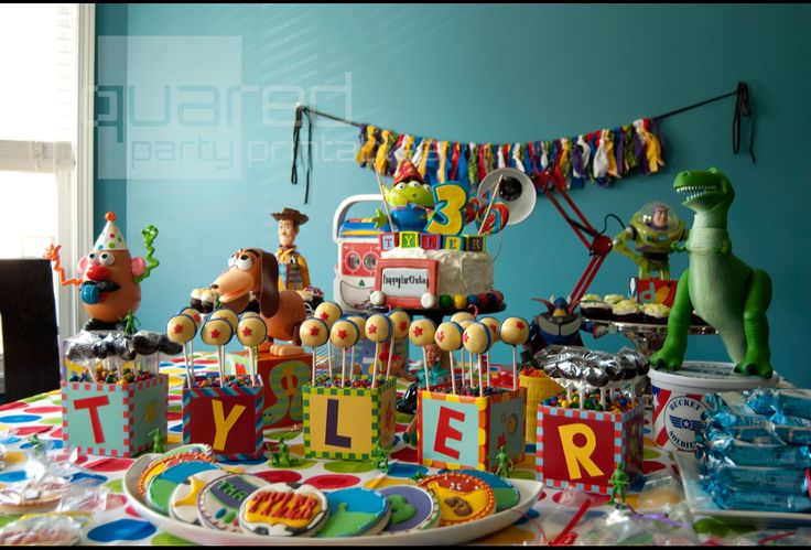 toy story birthday party ideas | Guest Party: Toy Story Birthday | Double the Fun Parties ®