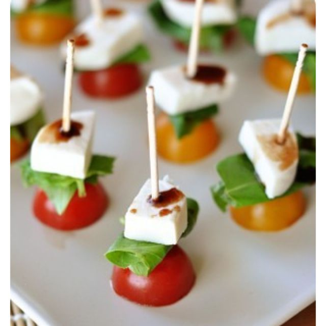 "Grown up finger food...whatever ""grown up"" means."