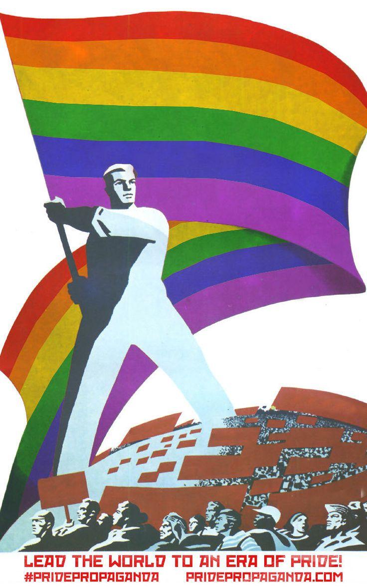 9 | Soviet Propaganda Becomes Fabulous Gay Pride Posters | Co.Design | business + design