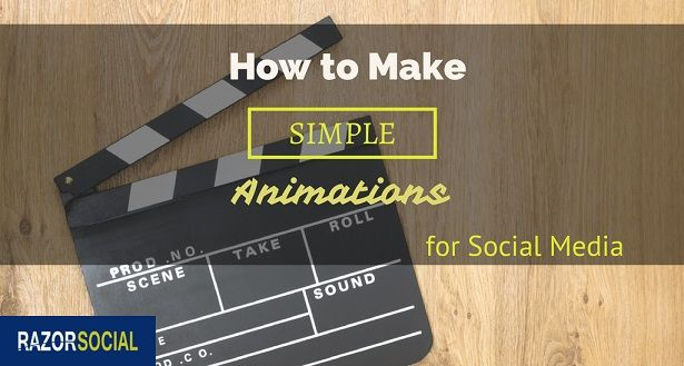 Here's a very useful tool that will show you how to make simple animations for your social media channels. Well worth taking a look.