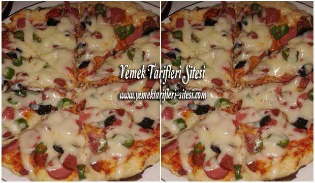 Tavada Pizza Tarifi | Yemek Tarifleri Sitesi - Oktay Usta ...