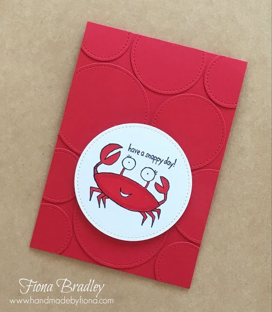 Have a snappy day - You're Sublime - Stampin' Up! - Fiona Bradley