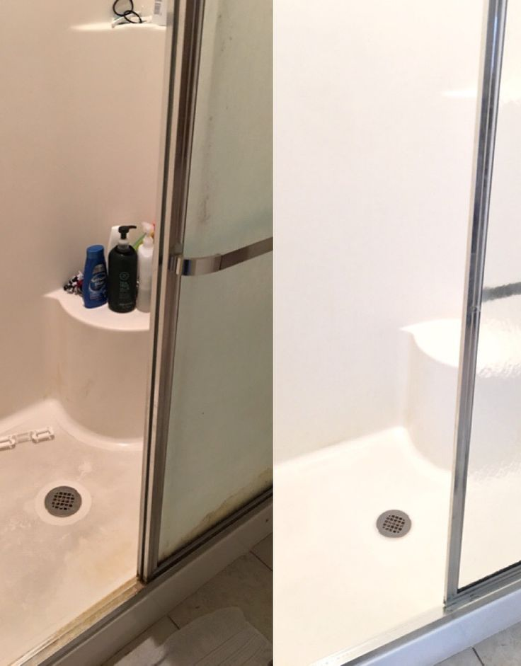 Housekeeping: How to Deep Clean a Shower - Chaotically Creative