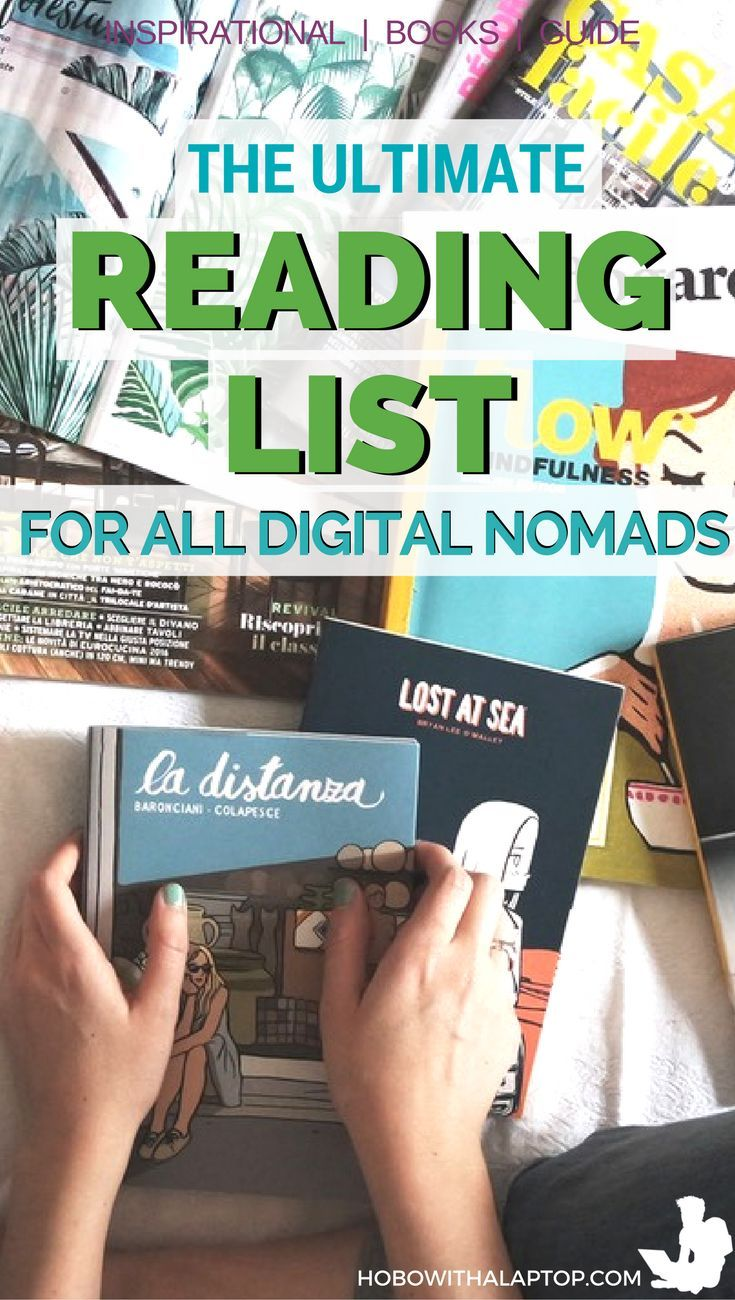Every digital nomad needs inspiration once in awhile. Here are a list of books on travel that have greatly influenced us here at Hobo with a Laptop. Hopefully, they will inspire you too to continue your location independent lifestlye. http://hobowithalaptop.com/digital-nomads-reading-list