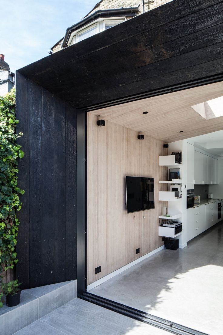 Located on John Ruskin Street, in the vibrant London Borough of Southwark, architects David Stanley and Romy Grabosch have recently transformed their ground floor flat in South London into an outward looking garden-centric dream home by adding a striking timber-clad extension, fit for the modern day