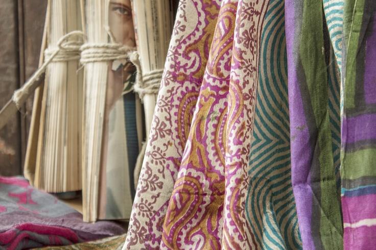 #Del Carmen #silk #shawl #vintage #magazine