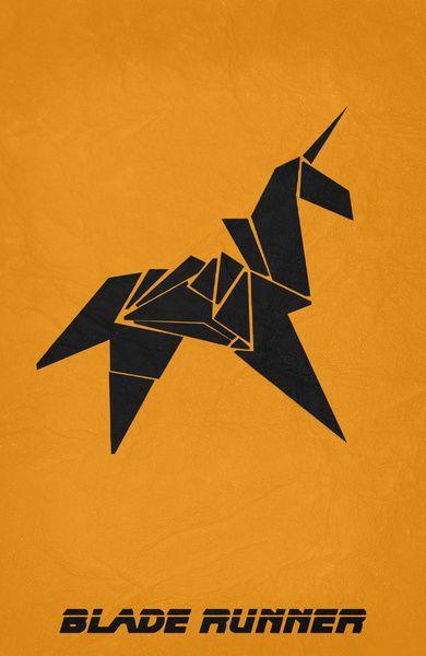 Blade Runner (1982) ~ Minimal Movie Poster by Begum Ozdemir