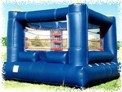 Super Bouncy Inflatable Wrestling Wwe Party Ideas